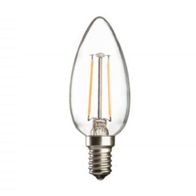 E14 / C35 LED Filament Candle Lamp